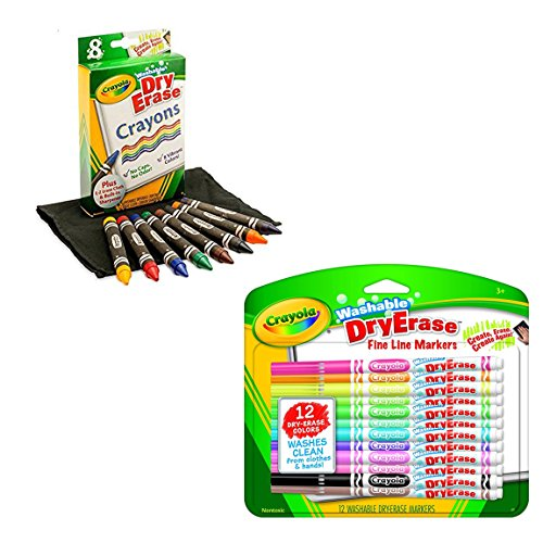 Crayola Washable Dry-Erase Markers & Dry-Erase Crayons