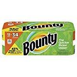 Bounty Paper Towels 15 Gigantic Rolls