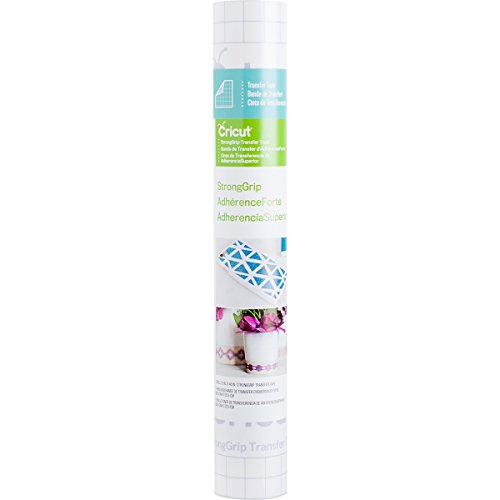 Cricut VINYL STRONG GRIP TRANSFER TAPE 12X48, 12×48-Inches, Clear