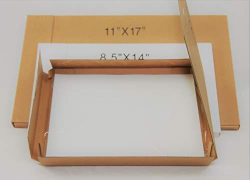 8.5 x 14 Inch Waterproof Inkjet Transparency Film for Silk Screen Printing – 1 Pack 100 Sheets