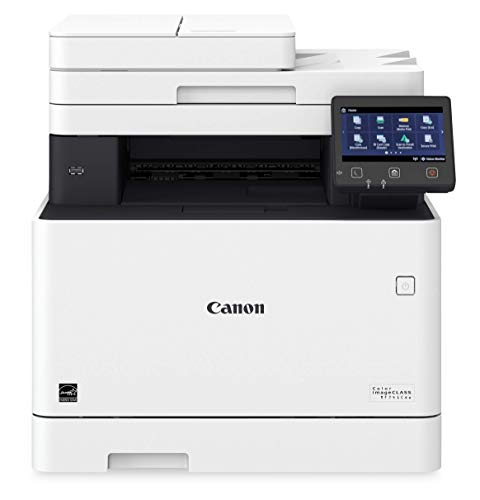 Multifunction, Wireless, Mobile Ready, Duplex Laser Printer Comes with 3 Year Limited Warranty – Canon Color imageCLASS MF741Cdw
