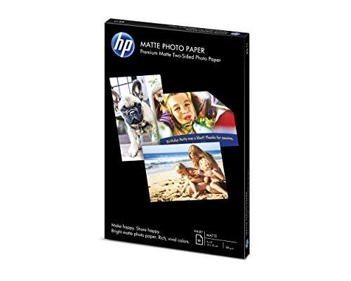 HP Matte Photo Paper | 4×6 | 25 Sheets