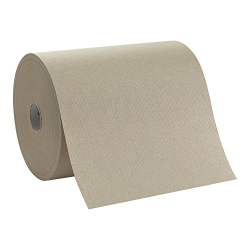 Georgia-Pacific enMotion 894-80-1 800′ Length x 10″ Width, High Capacity Touchless Roll Towel, Brown 1 Roll of 800′