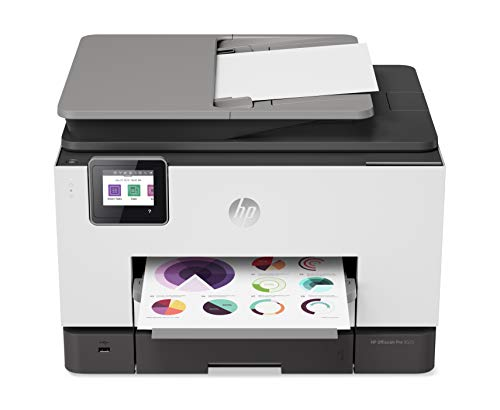 HP OfficeJet Pro 9025 All-in-One Wireless Printer, with Smart Tasks & Advanced Scan Solutions for Smart Office Productivity, Never Run Out of Ink with HP Instant Ink 1MR66A