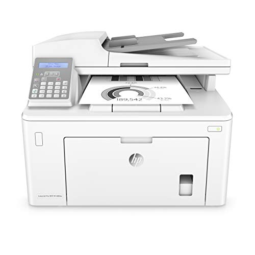 HP Laserjet Pro M148fdw All-in-One Wireless Monochrome Laser Printer with Auto Two-Sided Printing, Mobile Printing, Fax & Built-in Ethernet 4PA42A