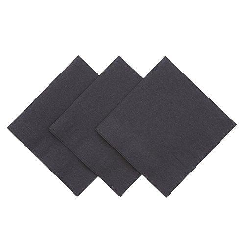 Royal Black Beverage Napkin, Package of 1000