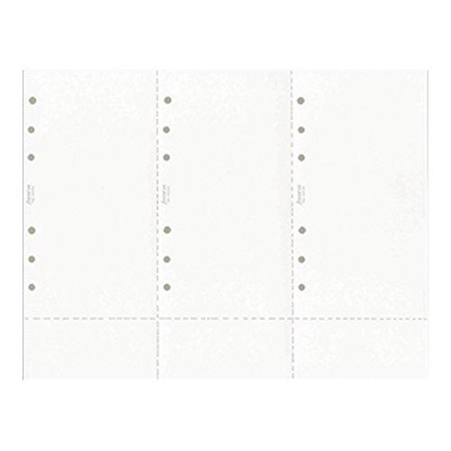 FILOFAX Personal & Personal Compact Plain Computer Paper Refill B930200