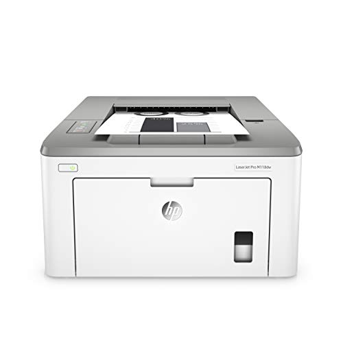 HP Laserjet Pro M118dw Wireless Monochrome Laser Printer with Auto Two-Sided Printing, Mobile Printing & Built-in Ethernet 4PA39A
