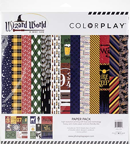 Photoplay Paper WW2991 ColorPlay Collection Pack 12″X12″, Christmas Traditional