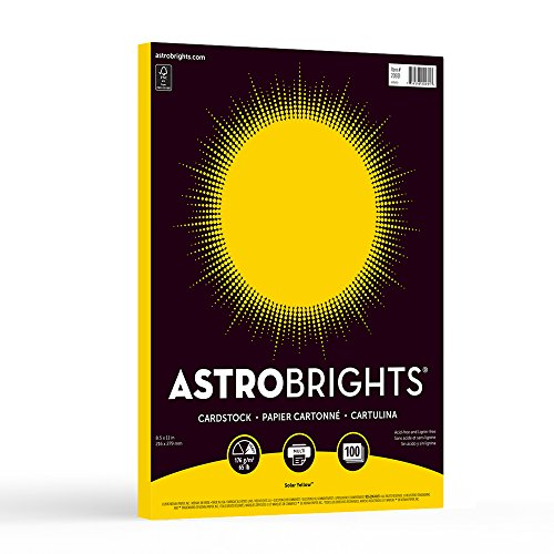 Astrobrights Colored Cardstock 20931-01
