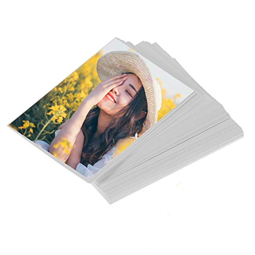 LIWUTE Professional Color Laser Printing Paper, Double Sided Glossy Photo Paper,Brochure Paper Glossy, for Laser Printers, 6″ x 4″, 200 gsm, 100 Sheets
