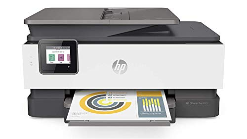 HP OfficeJet Pro 8025 All-in-One Wireless Printer, with Smart Tasks for Home Office Productivity, Instant Ink & Amazon Dash Replenishment Ready 1KR57A