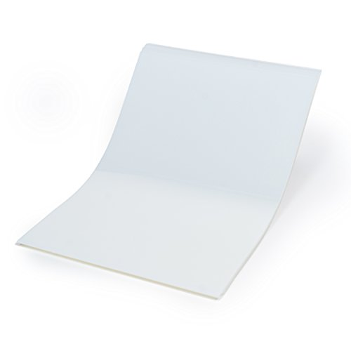 CISinks 100 Sheets 13″ x 19″ 100micron Universal Waterproof Quick Drying Inkjet Transparency Film for Printing Silk Screen Positives