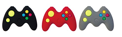 Raymond Geddes Game Controller Erasers Pack of 24