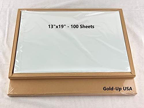 13 x 19 Inch Waterproof Inkjet Transparency Film for Silk Screen Printing – 1 Pack 100 Sheets