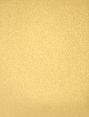LUXPaper 8.5″ x 11″ Cardstock for Crafts and Cards in 105 lb. Gold Metallic, Supplies, 50 Pack Gold