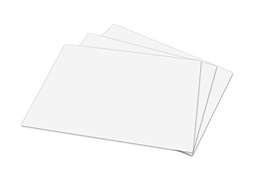 White Memo Sheets, 500 Sheets Per Pack 4 x 6