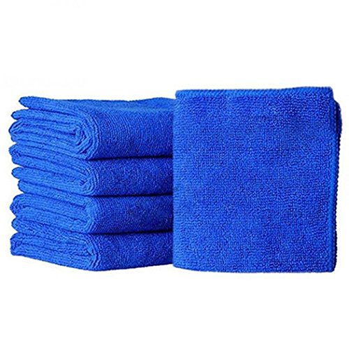 Masite Microfiber Cloth Cleaning Towels Pack of 5 Pieces for Fine Auto Finishes, Interior, Kitchen, Bathroom Paper Towels