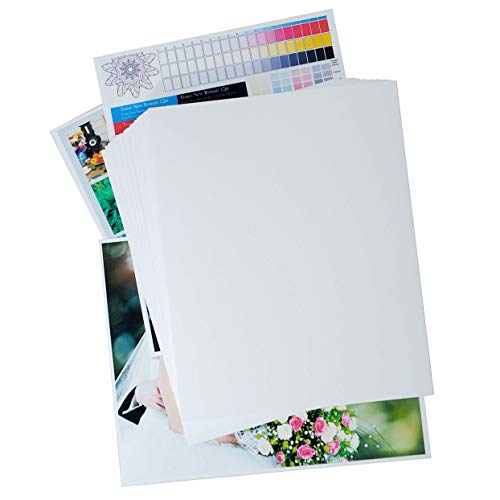 Printerry Matte Photo Paper 8 x 10 Inches 50 Sheets 58lbs/220gsm, Double Sided