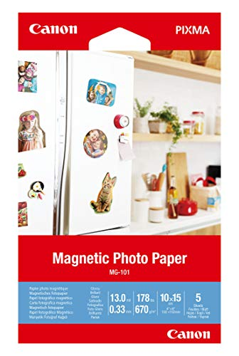 Canon MG-101-4″x6″ Magnetic Photo Paper 3634C002