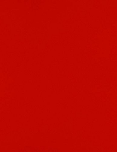 LUXPaper 8.5″ x 11″ Cardstock for Crafts and Cards in 65 lb. Holiday Red, Scrapbook Supplies, 50 Pack Red