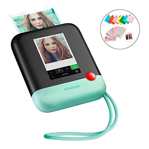 Polaroid Pop 2.0 2 in 1 Wireless Portable Instant 3×4 Photo Printer & Digital 20MP Camera with Touchscreen Display, Built-in Wi-Fi, 1080p HD Video Green Prints From your Smartphone.