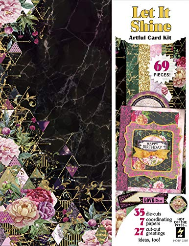 Artful Card Kits by Hot Off The Press | Coordinated Collections for Scrapbooking, Card Making and Gifts – Inspiration at Your Finger Tips Let It Shine