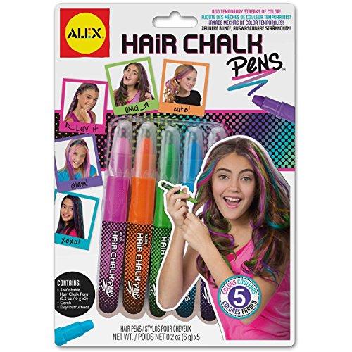 Alex Spa Hair Chalk Pens Girls Hair Color