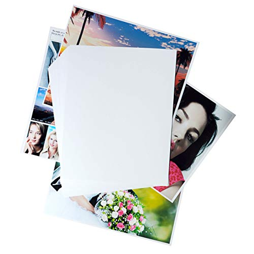 Printerry Glossy Photo Paper 8 x 10 Inches 50 Sheets 60lbs/230gsm