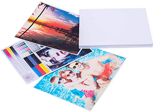 Printerry Glossy Photo Paper 5 x 7 Inches 50 Sheets 60lbs/230gsm