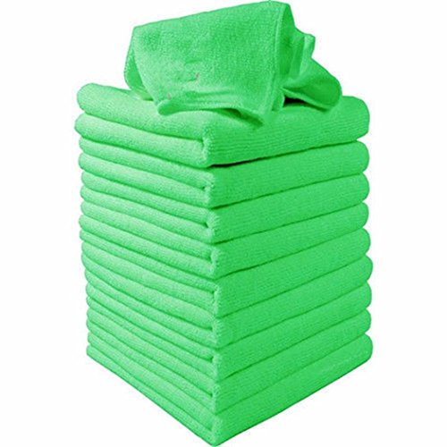 DREZZED Microfiber Cloth Cleaning Towels Pack of 5 for Fine Auto Finishes, Interior, Kitchen, Bathroom Paper Towels