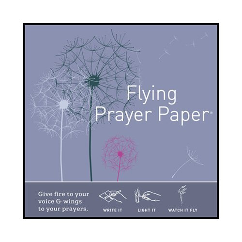 Flying Wish Paper Dandelion Prayers, Small