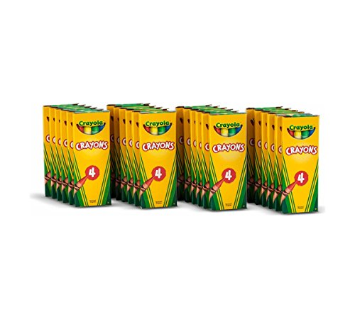 Crayola 4 ct Crayons – 24 Boxes per case Pack
