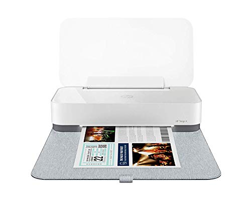 HP Tango X Smart Wireless Printer with Indigo Linen cover – Mobile Remote Print, Scan, Copy, HP Instant Ink & Amazon Dash Replenishment ready 3DP64A