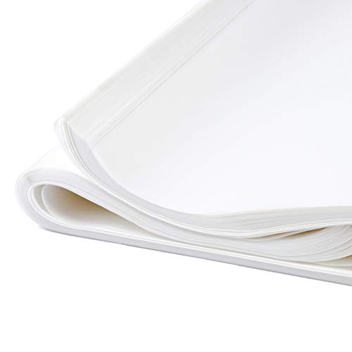 Glassine Paper Sheets for Artwork 16 x 20 in, 100 Pack