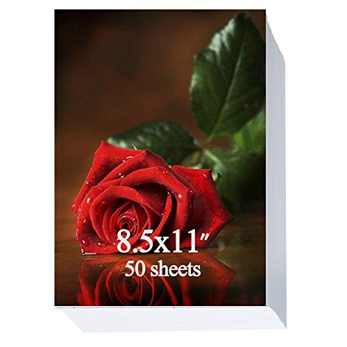 Glossy Photo Paper 8.5×11 inch 200gsm 50 Sheets