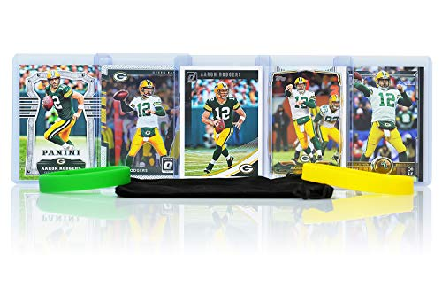 Top 8 Aaron Rodgers Football Card – Sports Collectible Trading Card Lots