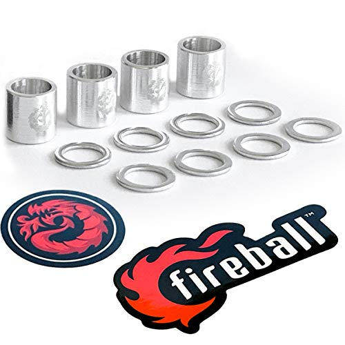 Top 10 Spacers and Washers for Skateboards – Skateboard Hardware