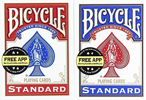 Top 7 Bicycle Playing Cards 12 Pack – Standard Playing Card Decks
