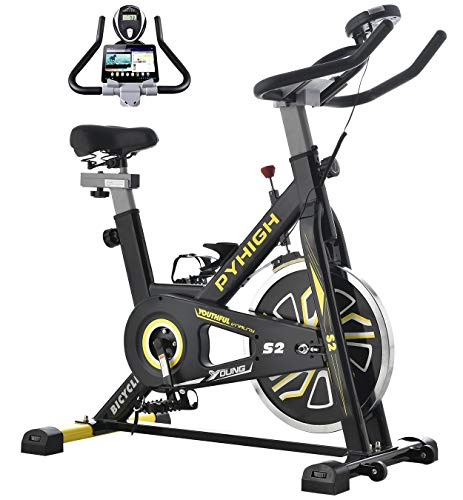 Top 10 PYHIGH Indoor Cycling Bike – Exercise Bikes