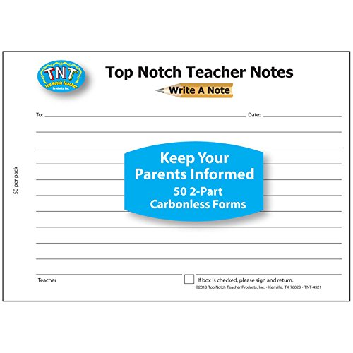 Top Notch Teacher Products Carbonless Write a Note
