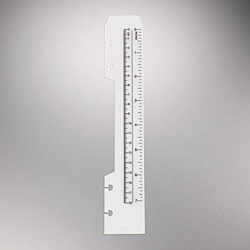 M by Staples™ Arc System Durable Poly Rulers 8.9 x 1.5 inches