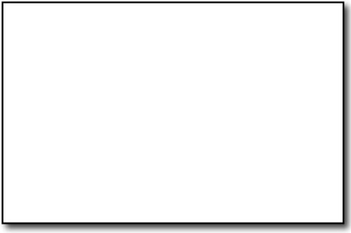 Blank Heavy Card Stock 80lb Cover – Half Letter Size 5.5″ x 8.5″ 250 Pack – White 5.5×8.5 Paper