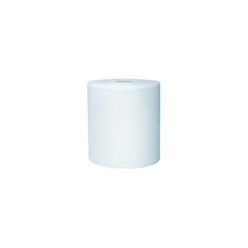 Kimberly-Clark 11090 White Kleenex Hard Roll Towel, 8″ W x 600′ L Pack of 6