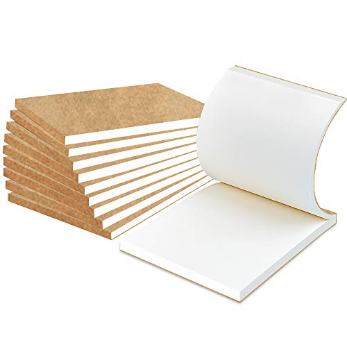 """10 Pack Blank Flipbook for Animation, Sketching, and Cartoon Creation, 4″ x 5.55"""" Animation Flip Book Mini Sketch Pad for Kids, 120 Pages 60 Sheets"""