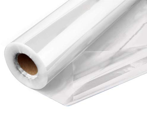 Clear Cellophane Wrap Roll 31.5 Inches Wide 100 Ft Long 1.4 Mil Thick Cellophane Roll for Baskets Gifts Flowers Food Safe Cello Rolls Unfolds to 31.5″. 31.5 INCH