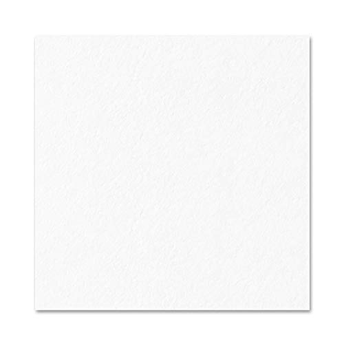 50 Sheets, White Cardstock Paper, 300 GSM 110 lb. Cover, 12 x 12 inches